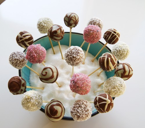 recept cake pops make up hairstylist. Black Bedroom Furniture Sets. Home Design Ideas